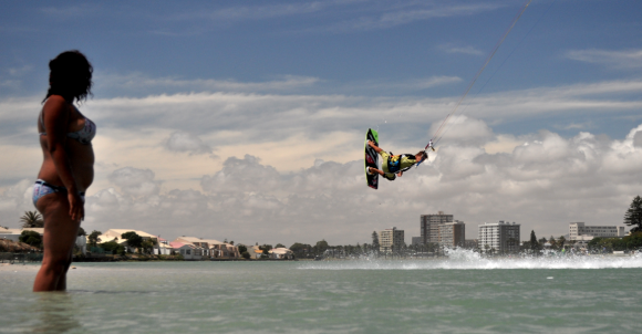 kiteboarding cape town