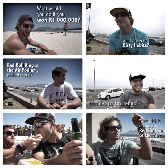 red bull king of the air rider interviews