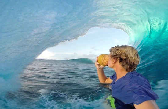 Gopro Footage Surf